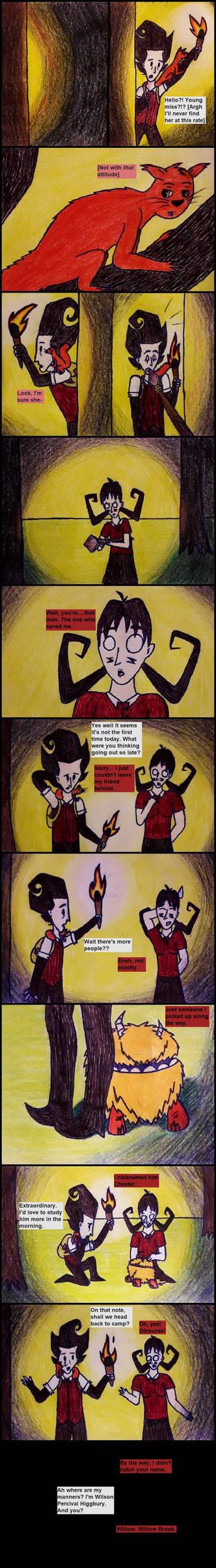 Wilson meets Red (comic pt 12)