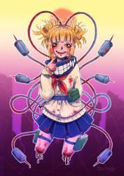 Toga Fanart - Boku no Hero Academia by MijsAdia