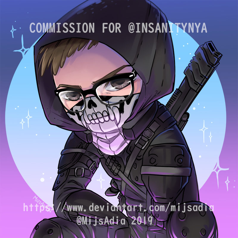 Icon for InsanityNya [COMMISSION] by MijsAdia