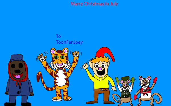 Merry Christmas In July Clipart.Merry Christmas In July By Shanealf1995 On Deviantart