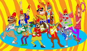 Scooby-Doo and Friends in The Banana Splits