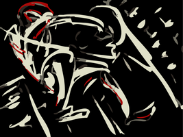 Ultimate Spider-man: Black by SkipperWing