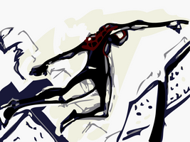 Ultimate Spider-man: White by SkipperWing
