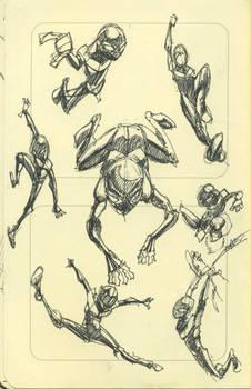 Sketchdump: Ultimate Spider-man Doodles