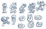 Clown sketches
