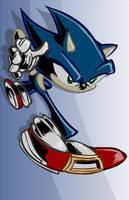 Sonic the Hedgehog: In a Hideki Naganuma mood by SkipperWing