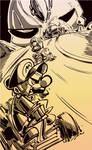 DSC- Mario Kart Vs Ghost Rider