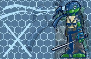 Leonardo (TMNT)- A SkipperWing Treatment by SkipperWing