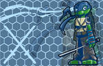 Leonardo (TMNT)- A SkipperWing Treatment