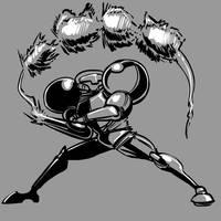 Metroid/Smash Bros: Up-Smash! by SkipperWing
