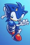 Fan Art (Sonic the Hedgehog): A doodle by SkipperWing