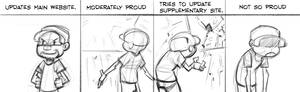 Comic Strip: Proud/NotSoProud