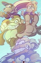 Deep freeze Kong Quest. by SkipperWing