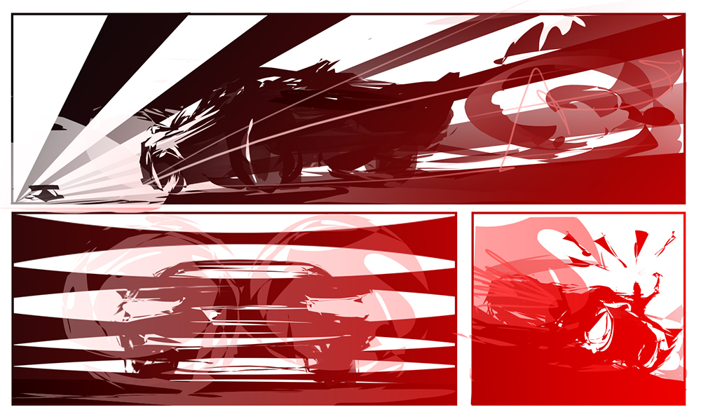 Road Rage ~ VRRRROOOOOMMMM! by indikate