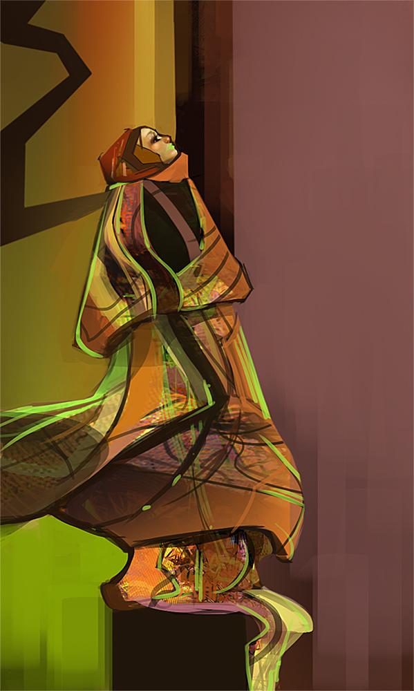 Dress Designs ~ Modern Kimino by indikate