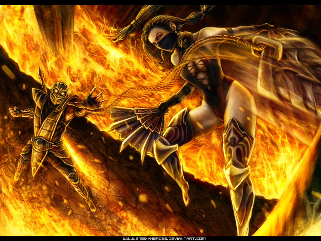 Scorpion VS Kitana - Forums - Mortal Kombat 11