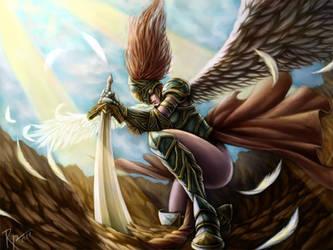 An Angel's Descent