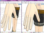 [MMD] Tutorial Automatic Fingers Rigging