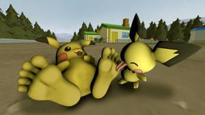Pikachu o Pichu.