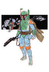 Boba Fett in 3D