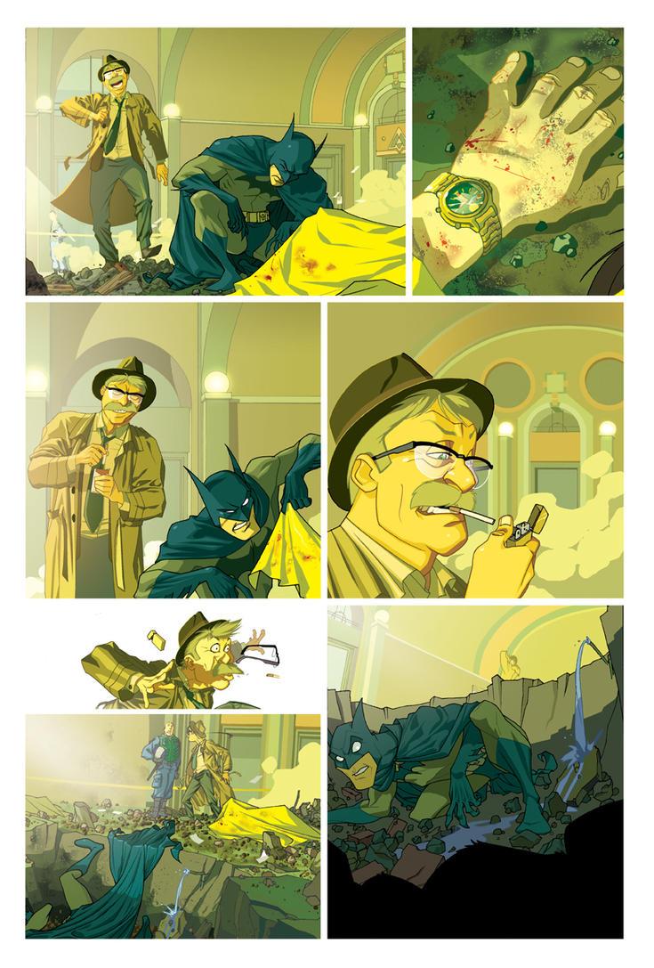 Unpublished Batman by Roboworks