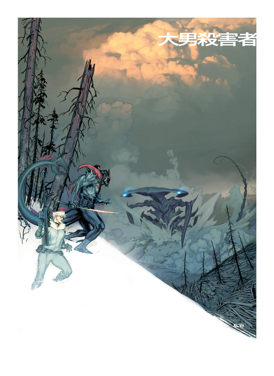 Giant Killer fanart by Roboworks