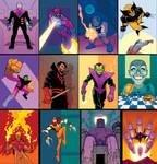 Cully Hamner Marvel Cards