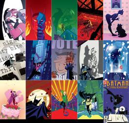 Batman Adventures Covers by Roboworks