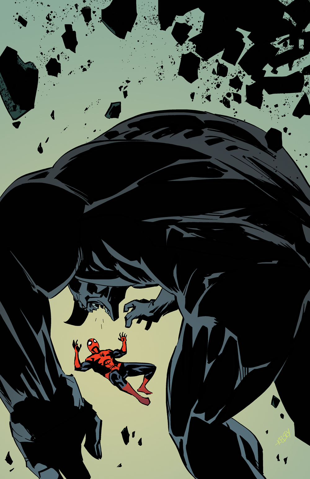 spiderman vs Rhino by Roboworks