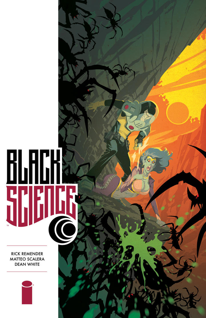 Black Science-alternate cover by Roboworks