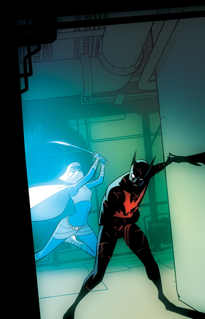 Batman Beyond Again! by Roboworks