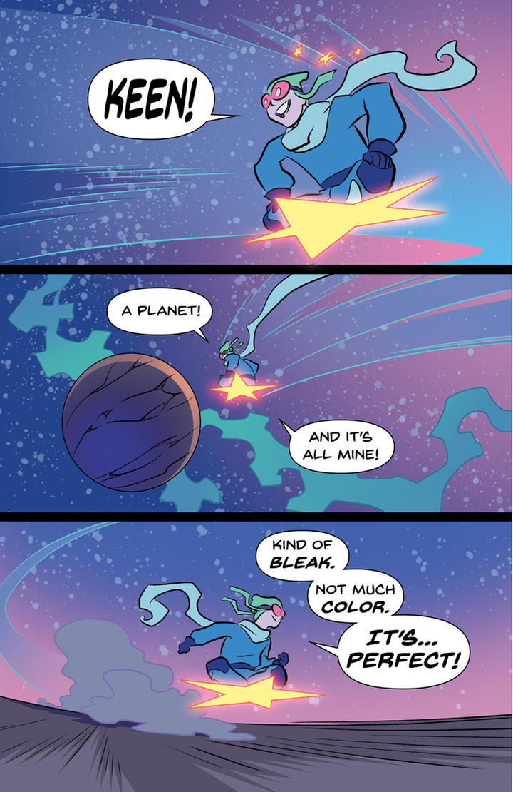 Starlad and the Creative Struggle 01 by Roboworks