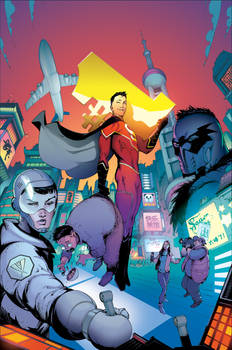 New Super-Man #1 cover