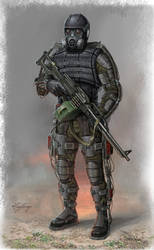 exoskeleton for stalker