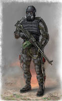 exoskeleton for stalker by hagtorp762