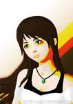 Girl Portrait - Artistic version