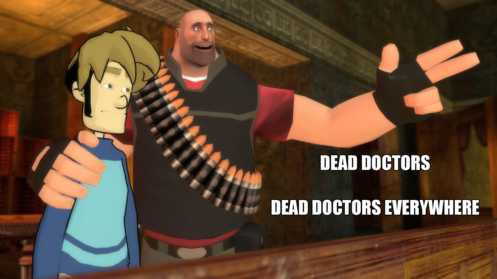 Dead Doctors Everywhere by Masterlegodude