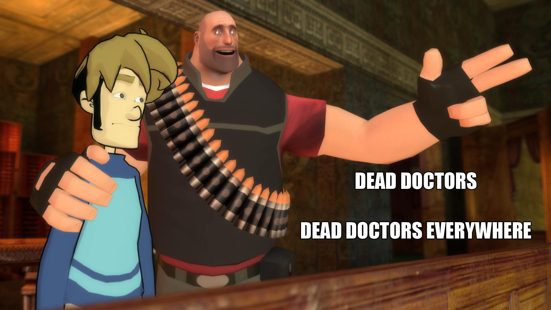 Dead Doctors Everywhere by Masterlegodude