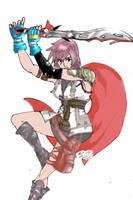 Lightning ffXIII by knight-alui