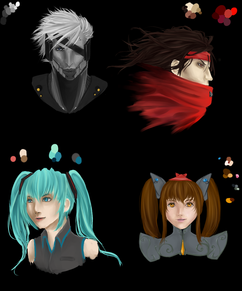 Headshots by kurousagi0