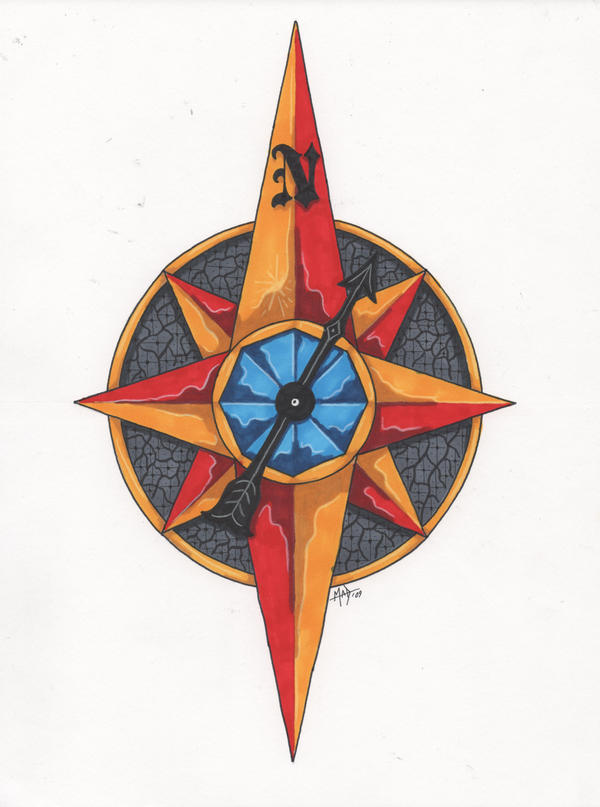 compass tattoos