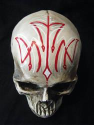 Pinstripe skull