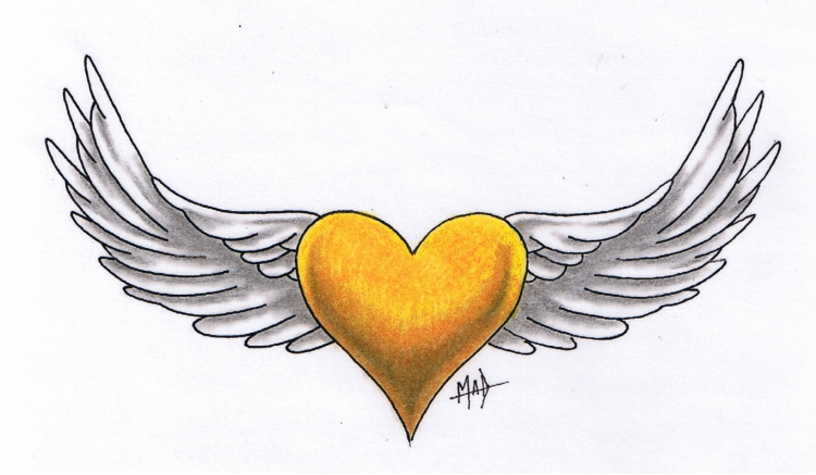 Heart fo gold tattoo by madtattooz on deviantart for Heart of gold tattoo