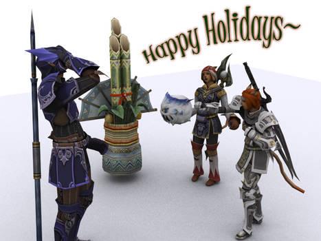 FFXI - Holiday Greetings