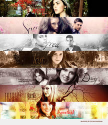 Banners.