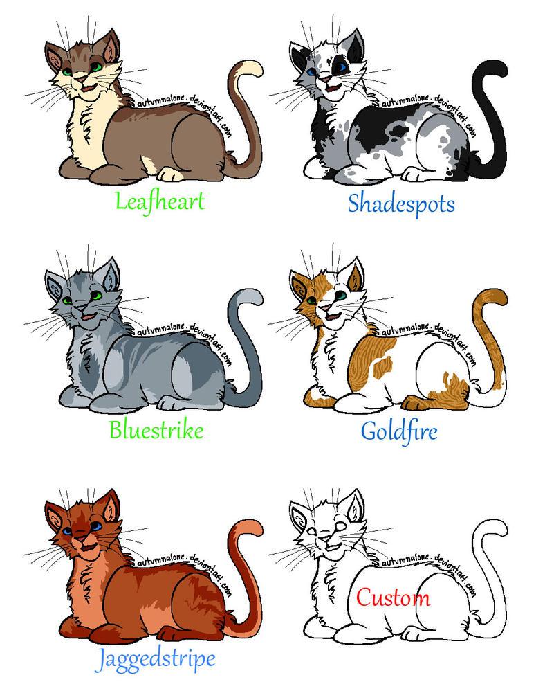 Warrior Cat Names List A Z
