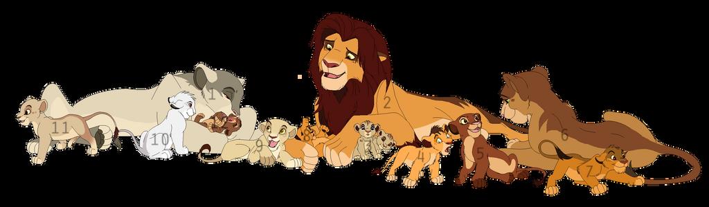 Lion Pride Adoptables By BrizzAdoptsXX On DeviantART