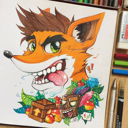Crash Bandicoot by TheLittleArtyThing