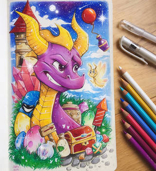 Spyro Reignited! by TheLittleArtyThing
