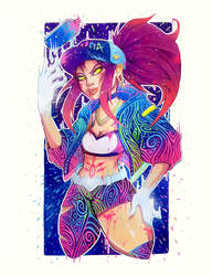 Akali Print Available Now!